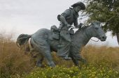 picture of wrangler  - a statue of a wrangler - JPG