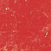 stock photo of canvas  - Red Distressed Paint Texture for your design - JPG