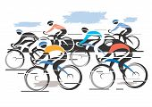 Peleton Cycle Race