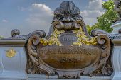 Architectural Detail Of Pont Alexandre Iii