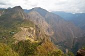 Mach Picchu - Bird Eye View