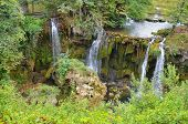 Beautiful waterfal on Plitvice Lake