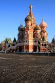 The Cathedral Of Saint Basil The Blessed. Red Square, Moscow, Russia