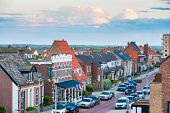 Zandwoort Town Center In Holland