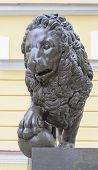 Bronze Sculpture Of Lion