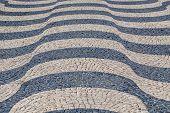 Waves Of Tiled Floor