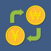 picture of won  - Currency exchange - JPG
