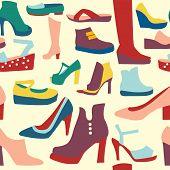 Women Shoes Pattern
