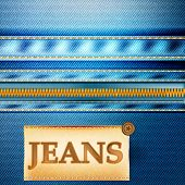 Fashion Vector Background With Jeans Fabric Texture.ai