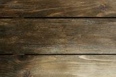 Brown old wood texture close-up background