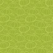 Pumpkin Seamless Vector Pattern.