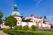 picture of bohemia  - famous baroque pilgrimage place Svata Hora  - JPG