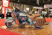 Indian Motorcycle Chief Vintage 2015 On Display