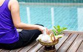 Woman Doing Meditad