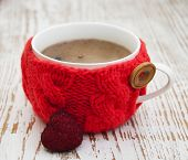 Cup With Knitted Thing