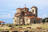 Church Of St. John Kaneo In Ohrid, Macedonia