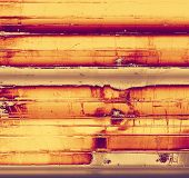 Old retro vintage texture. With different color patterns: yellow; brown; gray; orange; purple (violet)