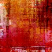 Grunge texture, may be used as background. With different color patterns: brown; orange; red; pink