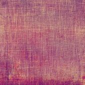 Vintage old texture for background. With different color patterns: orange; red; purple (violet)