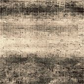 Aging grunge texture, old illustration. With different color patterns: black; gray; brown