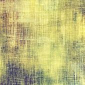 Aged grunge texture. With different color patterns: yellow; green; gray; violet