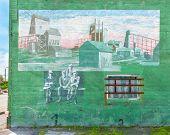 Route 66: Mining Mural, Quapaw, MO