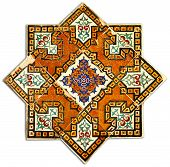 Ancient Geometric Tiled Decor