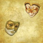 Venetian carnival background