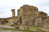 Os banhos de Memmian em Bulla Regia