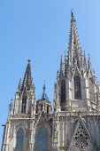 The Spires of Barcelona Cathedral