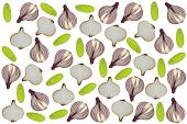 Onion Background