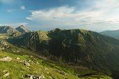 View from Kasprowy wierch in Tatras