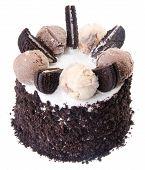foto of ice-cake  - ice cream cake - JPG