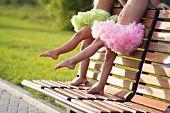 Little ballerinas legs