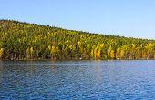 Lake And Autumn Wood