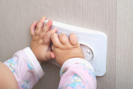 pic of prank  - electrical protection of ac power outlet for babies - JPG