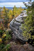 stock photo of perm  - Natural monument  - JPG
