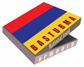 Постер, плакат: Basturma Armenian National Dish Of Meat