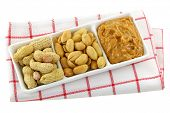 picture of groundnuts  - A dish of roasted groundnuts - JPG