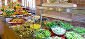 picture of chinese restaurant  - food buffet in restaurant - JPG
