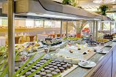 image of buffet  - food buffet in restaurant - JPG