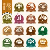 pic of bag-of-dog-food  - Animals and nature related icon set is ready to be used - JPG