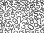 picture of zero  - Background of numbers - JPG