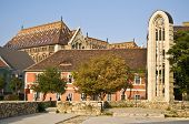 pic of church mary magdalene  - ruin of the church Mary Magdalene on the castle hill in Budapest - JPG