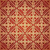picture of plexus  - Seamless patterns in arabian style - JPG