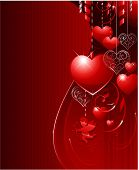 foto of valentines day card  - Valentines day background - JPG