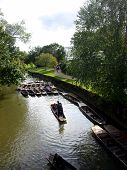 Punting In Oxford, United Kingdom