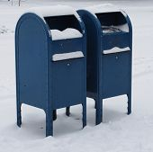 Mailboxes Big Stock