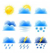 cloud gold sun set weather climatic icon vector illustration isolated on white background