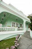 Taipa houses museum is a famous landmark in macau